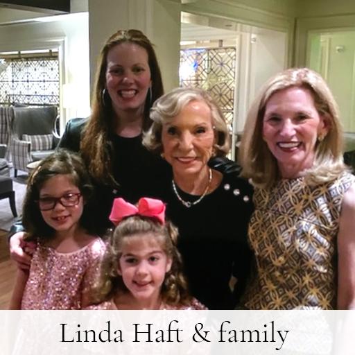 Linda Haft & family
